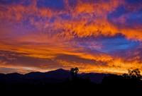 Redlands Sunrise, California
